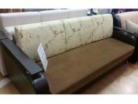 Прямой диван с образца